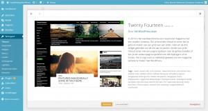 WordPress weergave - thema details themes - Handleiding WordPress door Compass Creations webdesign Gouda