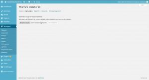 WordPress weergave - thema thema's themes uploaden - Handleiding WordPress door Compass Creations webdesign Gouda