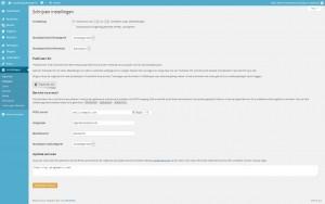 WordPress instellingen - schrijven - Handleiding WordPress door Compass Creations webdesign Gouda